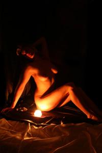 Artistic nude poster Orli-c899